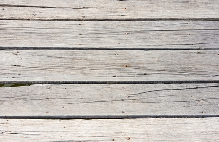 Old wooden pier photo