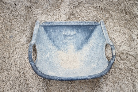 bucket with sand Stock Photo - 21611691