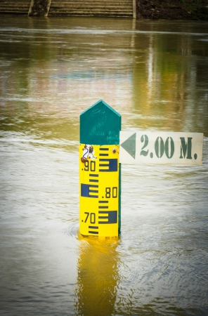 Water level indicator Stock Photo - 22240848