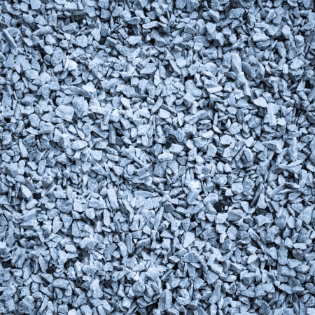 Crushed gravel texture photo