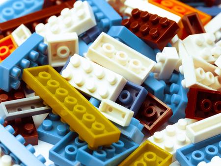 plastic toy blocks photo