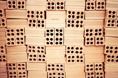 Stack of Red Bricks