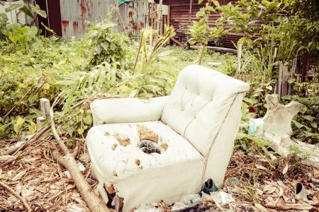 Old sofa Imagens