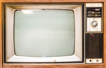 Vieux millésimes TV Banque d'images