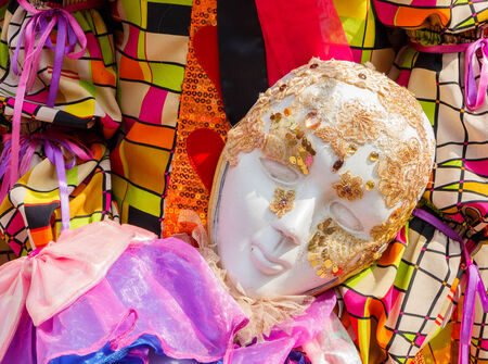 Vintage carnival masks Stock Photo