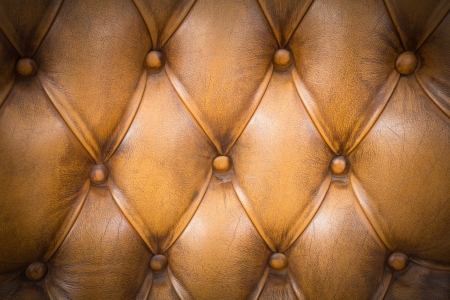 close up leathers texture of Sofa photo