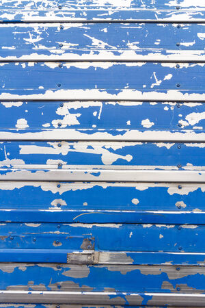 Pattern of blue grunge material photo