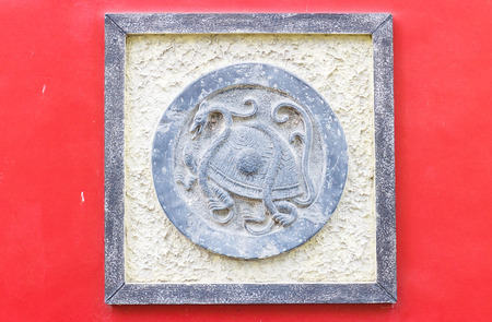 chinese phoenix: Chinese phoenix statue