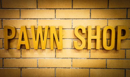 general store: Pawn Shop Sign