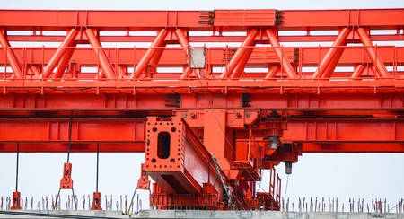 superstructure: giant Launching Girder