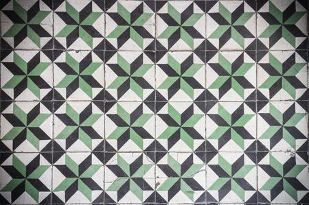 spanish architecture: Vintage Floor Tile Stock Photo