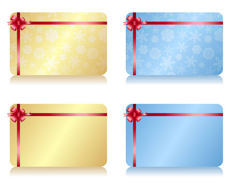 blank gift tag: Christmas Gift Card