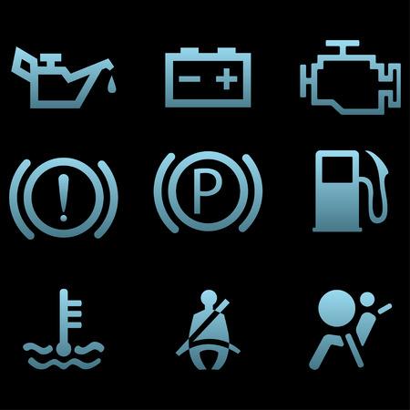 Car interface symbols