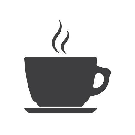 Iocn of Coffee Cup Illustration
