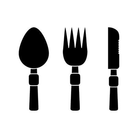 fork and spoon: Fork, Spoon and Knife icons