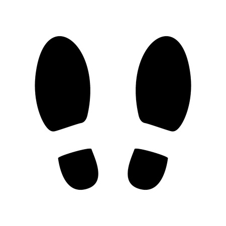 boot print: Shoe prints or Footprint icon.