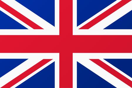 イギリス、イギリスの旗  イラスト・ベクター素材