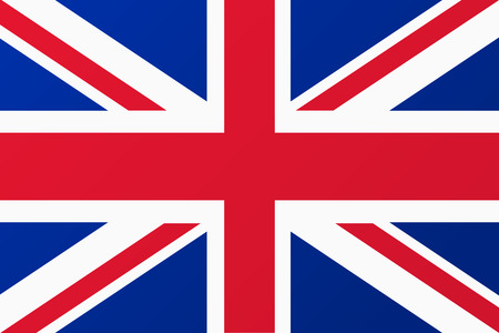 Great Britain, United Kingdom flag Imagens - 38362342