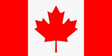 bandera: Bandera de Canadá