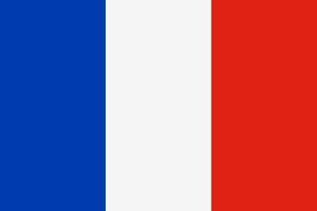 Bandera de Francia Foto de archivo - 38362405