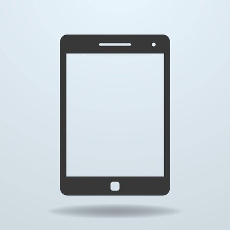 electronic tablet: Icon of Tablet PC, tablet computer Illustration