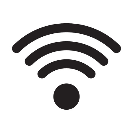 wave icon: WiFi icon