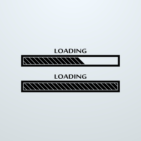 uploading: Loading, uploading, downloading status bar icon