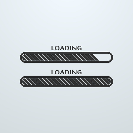 downloading: Loading, uploading, downloading status bar icon