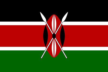 kenya: Flag of Kenya