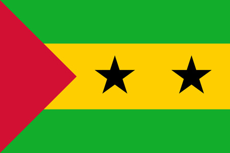 principe: Bandera de Santo Tomé y Príncipe
