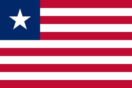 liberia: Flag of Liberia