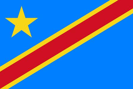 congo: Flag of Democratic Republic of Congo