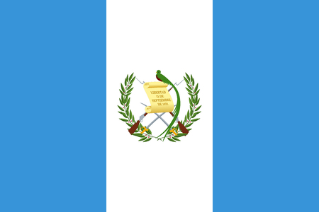Flag of Guatemala Stock Illustratie