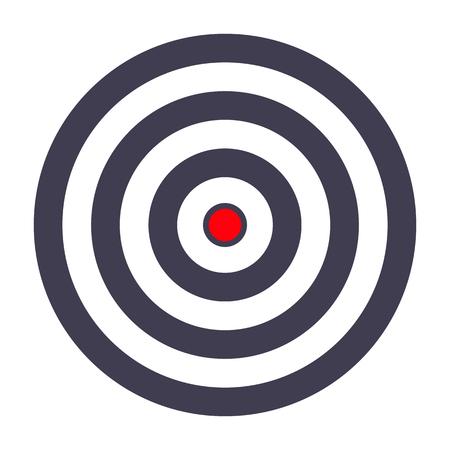simple target template bullseye symbol royalty free cliparts