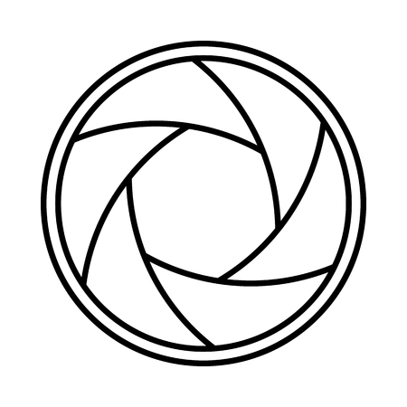 Fotografie Kamera Verschluss Objektiv Blende Symbol