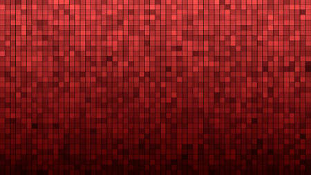 Abstract grid type background from glowing, flickering glitter dots. Mesh of circles Standard-Bild