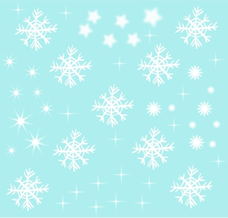 Decorative Snow Stock Photo - 11328510