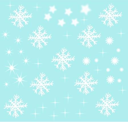 Decorative Snow Stock Photo - 11328510