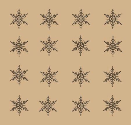 30 Vector Snowflakes Set  Stock Photo