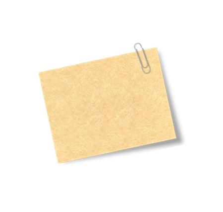 adhesive note