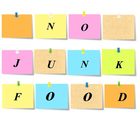 No junk food photo
