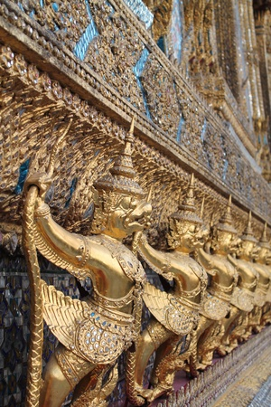 Demon Guardian Statues at Wat Phra Kaew  Stock Photo - 11771460