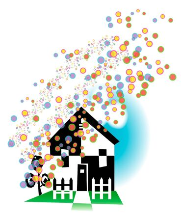 new home Stock Vector - 12232151