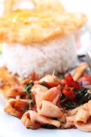 Minced Pork with Thai food. Stock Photo - 14692944