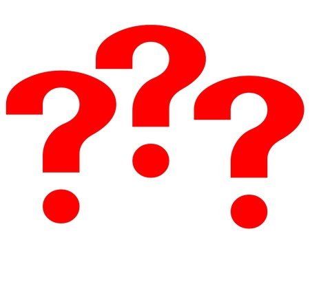 Question mark Stock Photo - 17508602