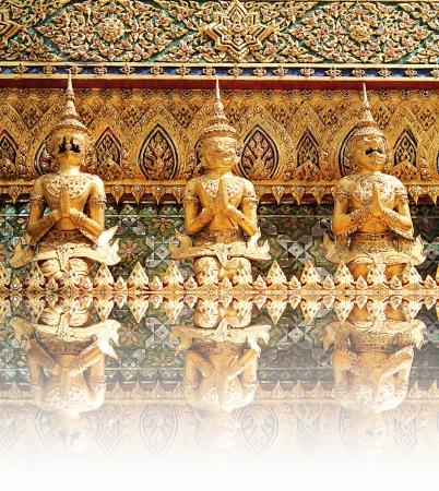 Demon Guardian Statues at Wat Phra Kaew