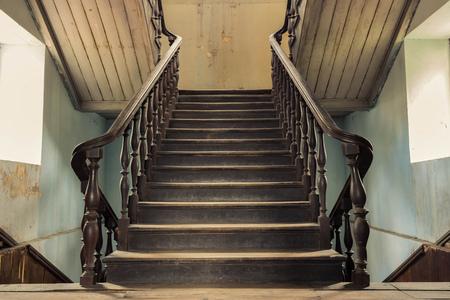 ビンテージの階段