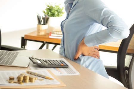 symptom backache office syndrome For working people