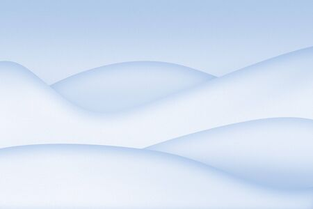 Clean simple snowy abstract background photo