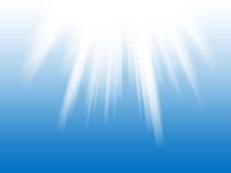 abstract light rays on the blue background photo